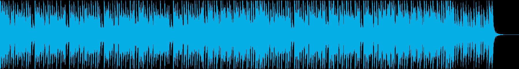 39秒でサビ、電子音ダーク/カラオケの再生済みの波形