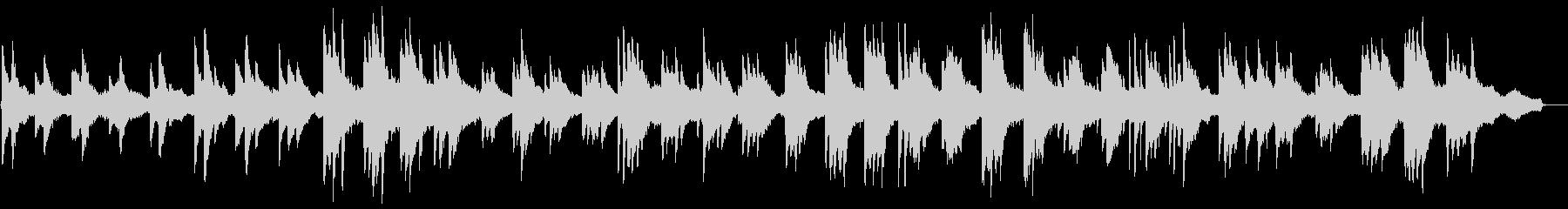 ヒーリングピアノ組曲 まどろみ 10の未再生の波形
