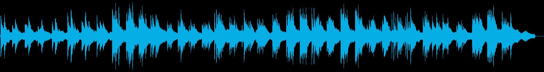 ヒーリングピアノ組曲 まどろみ 10の再生済みの波形