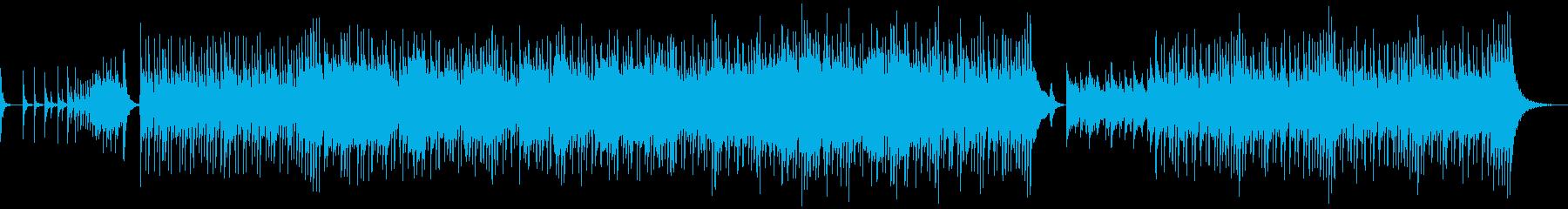 尺八メインの伝統歌舞伎風(激しめ)の再生済みの波形