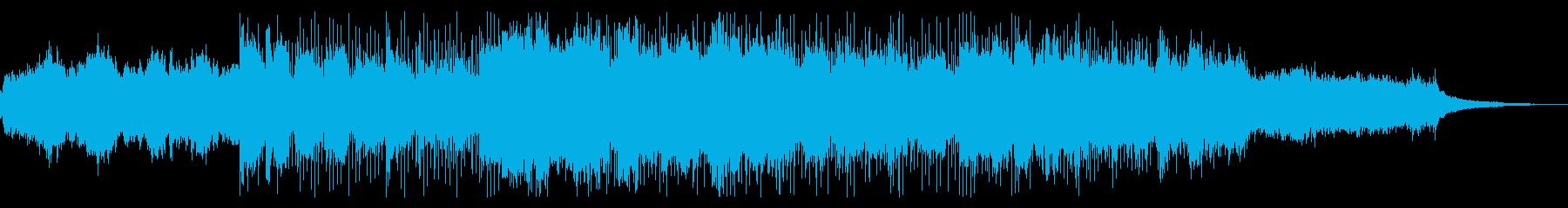 デジタルでミステリアスなIDMの再生済みの波形