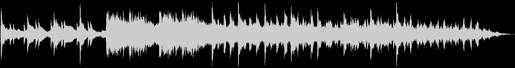 悲しいピアノ・エレクトリックの未再生の波形