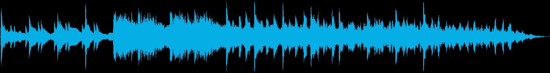 悲しいピアノ・エレクトリックの再生済みの波形