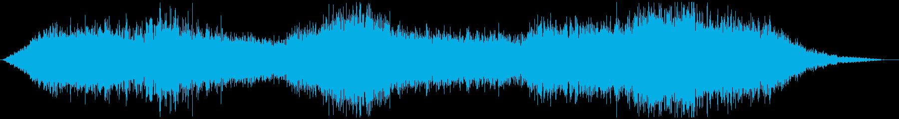 ドローン 歌01の再生済みの波形