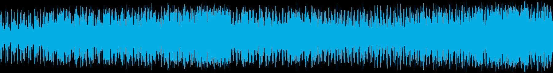 エネルギッシュなサザンロックループ...の再生済みの波形
