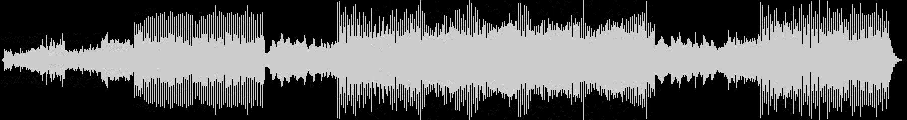 おしゃれでかわいいテクノポップBGMの未再生の波形