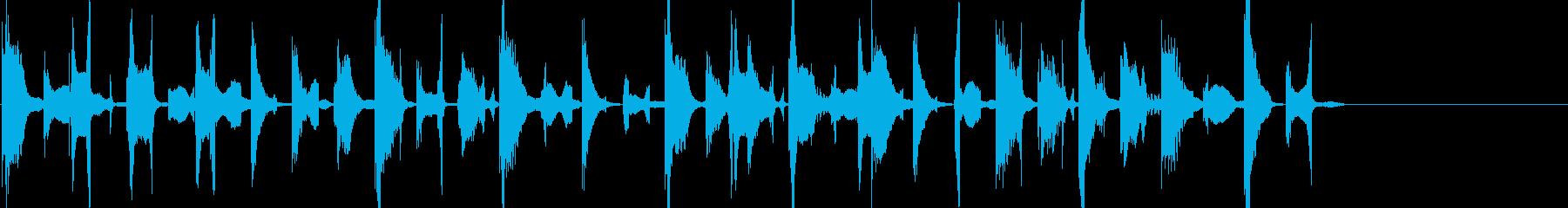 不思議なエレクトロのんの再生済みの波形
