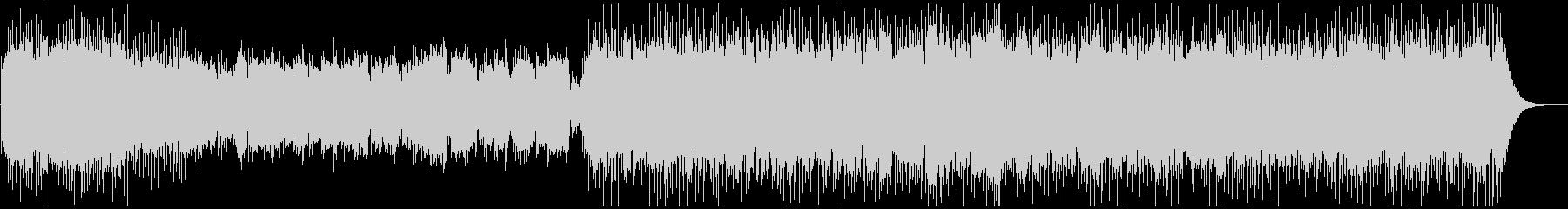 生バイオリン・アコギ・ピアノの綺麗な曲の未再生の波形