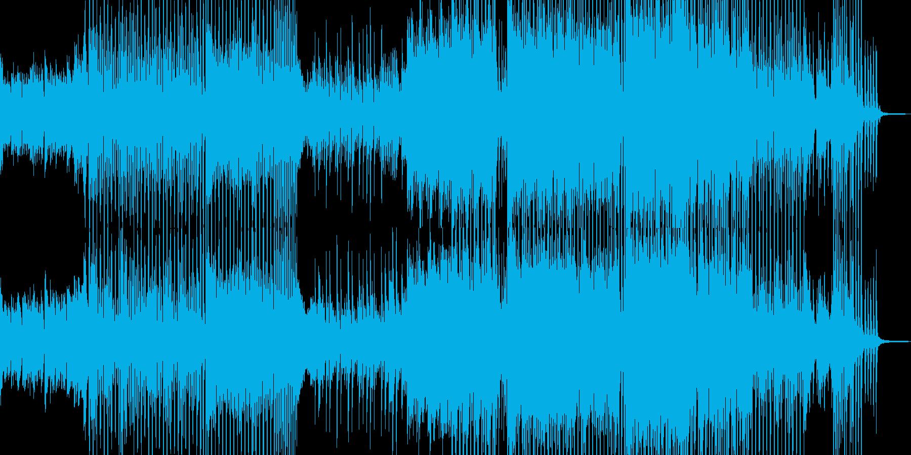 前向きに歩き出すテクノポップ 短尺の再生済みの波形