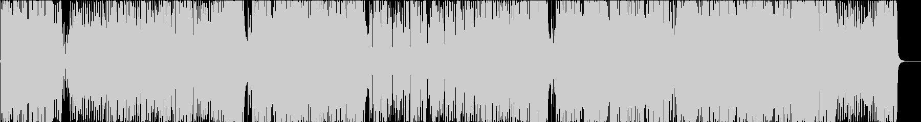 ケトン体式エクササイズアニメソングの未再生の波形