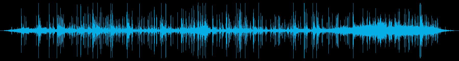 花火:コンスタントバーニングクラックルの再生済みの波形