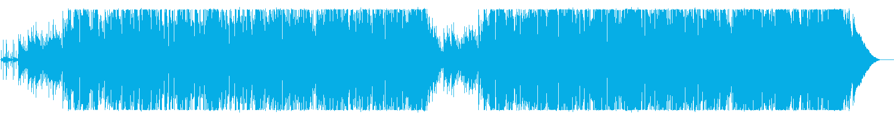 Romantic and adult atmosphere BGM's reproduced waveform