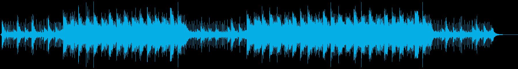 壮大なイメージのコーポレート向けBGMの再生済みの波形