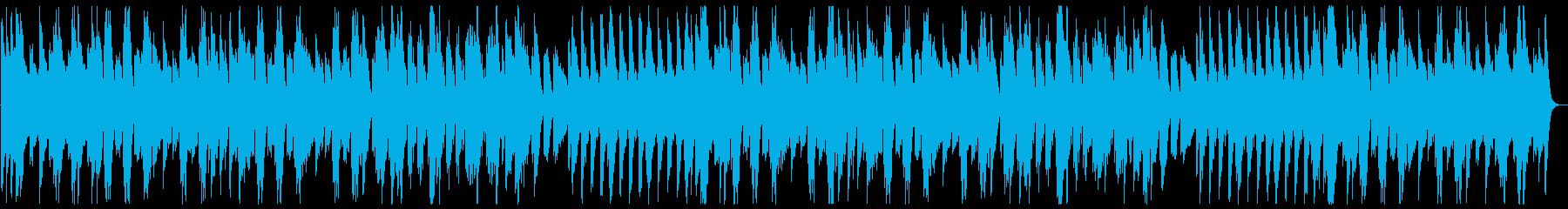 ゆっくり可愛いメロディーのオルゴールの曲の再生済みの波形