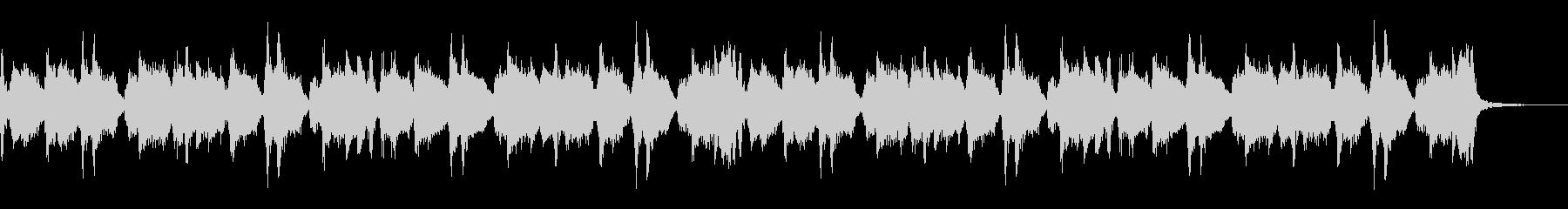 ロック系ギターリフの未再生の波形
