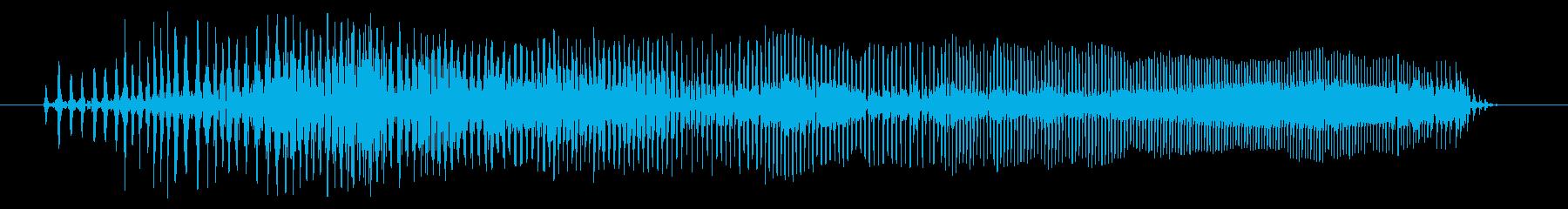 空腹03-3の再生済みの波形