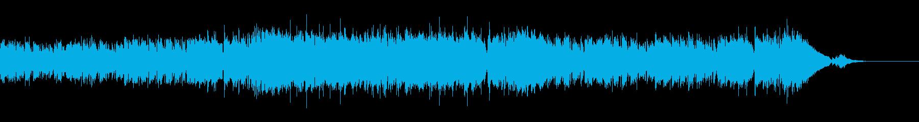 CM・ラジオ・わくわく・ファンクの再生済みの波形