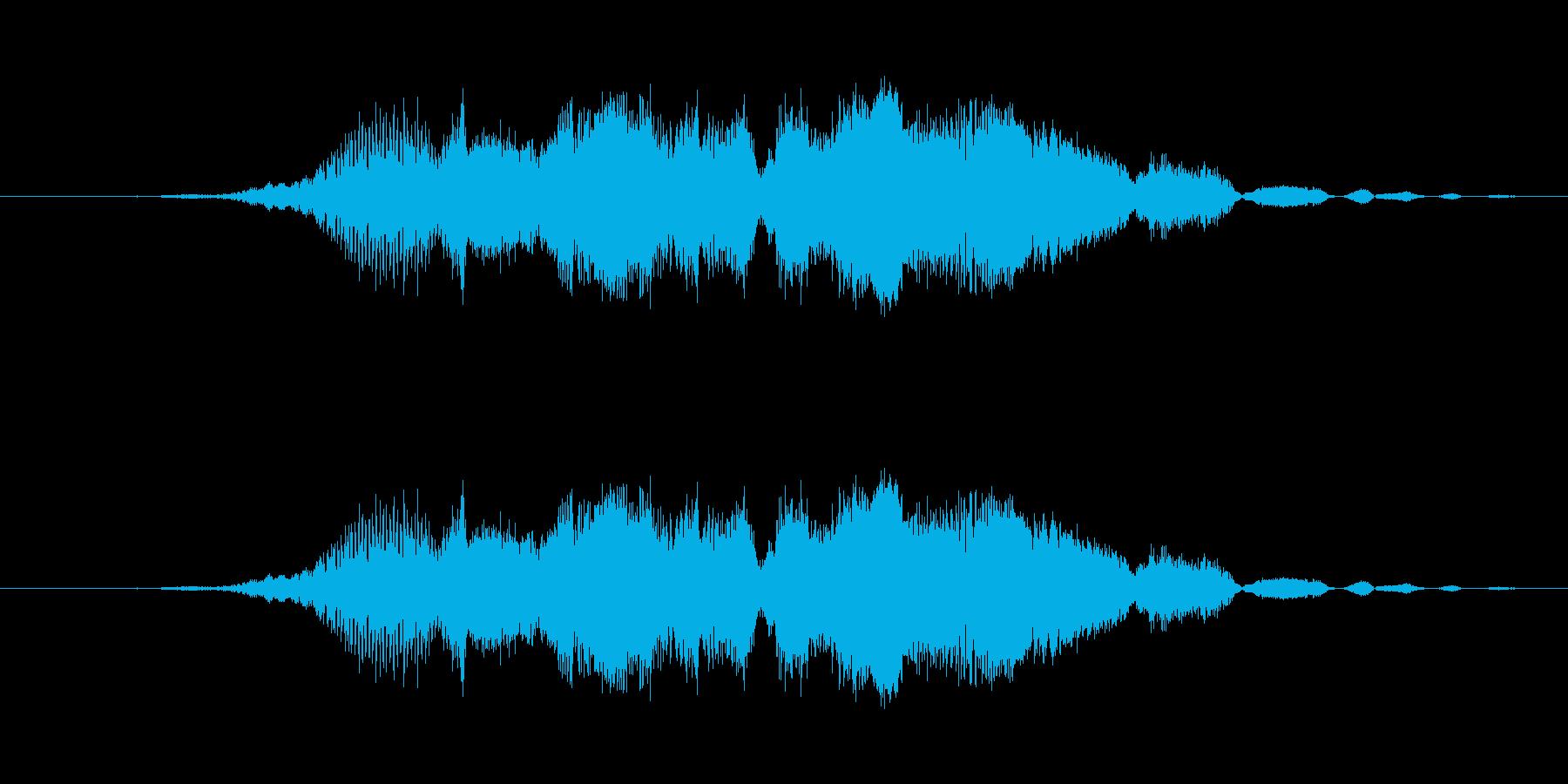 特撮 Crazy 03を確認の再生済みの波形