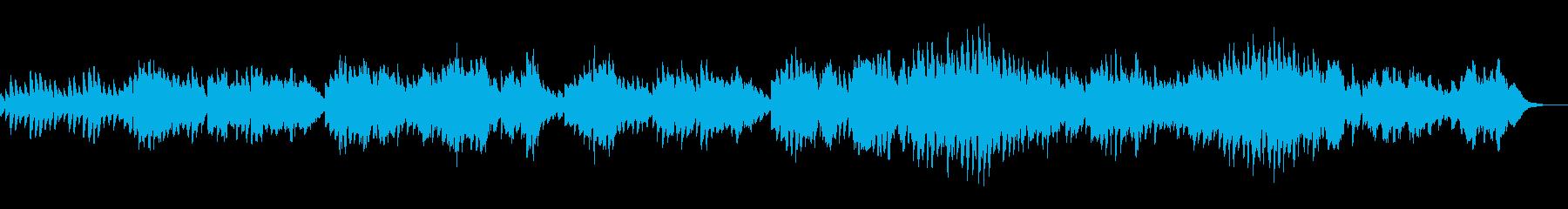 甘美な旋律のフォーレの「夢のあとに」の再生済みの波形