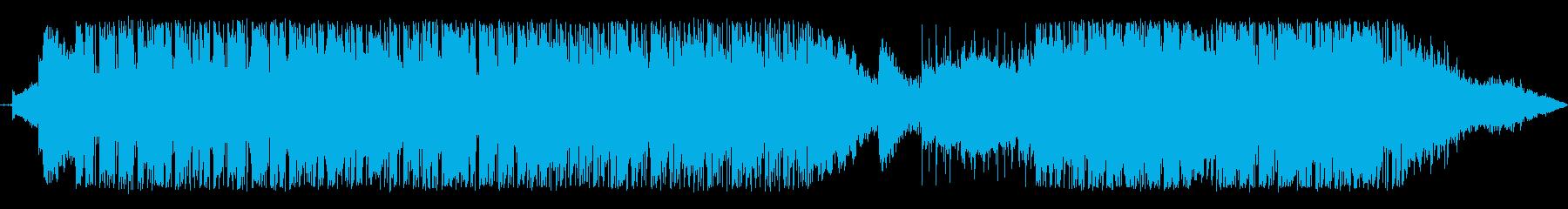 アンビエント 技術的な 説明的 静...の再生済みの波形