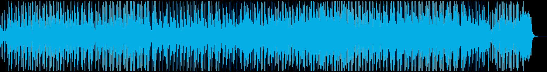 ロシア歌曲「ともしび」シンセアレンジの再生済みの波形