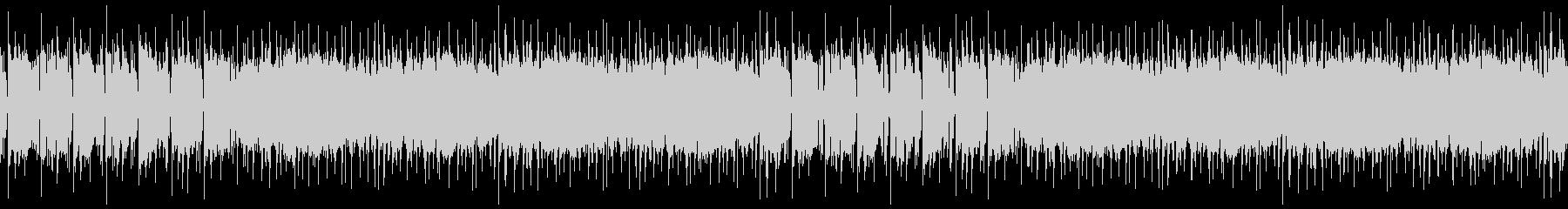 シンセが目立つ都会的BGM※ループ仕様の未再生の波形