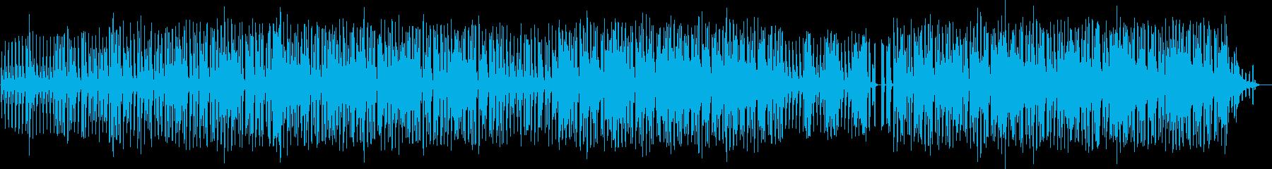 コミカルでノリの良いテクノの再生済みの波形