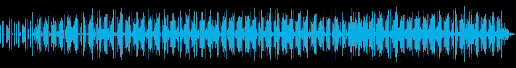 ちょっと昔のゲーム音楽風 楽しいリズムの再生済みの波形