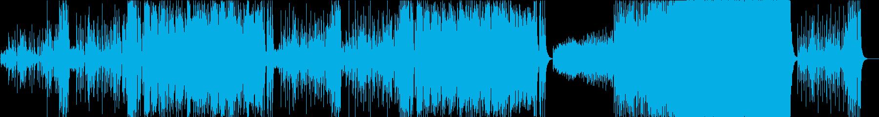 これはアメリカーナ風のスペイン語の歌ですの再生済みの波形