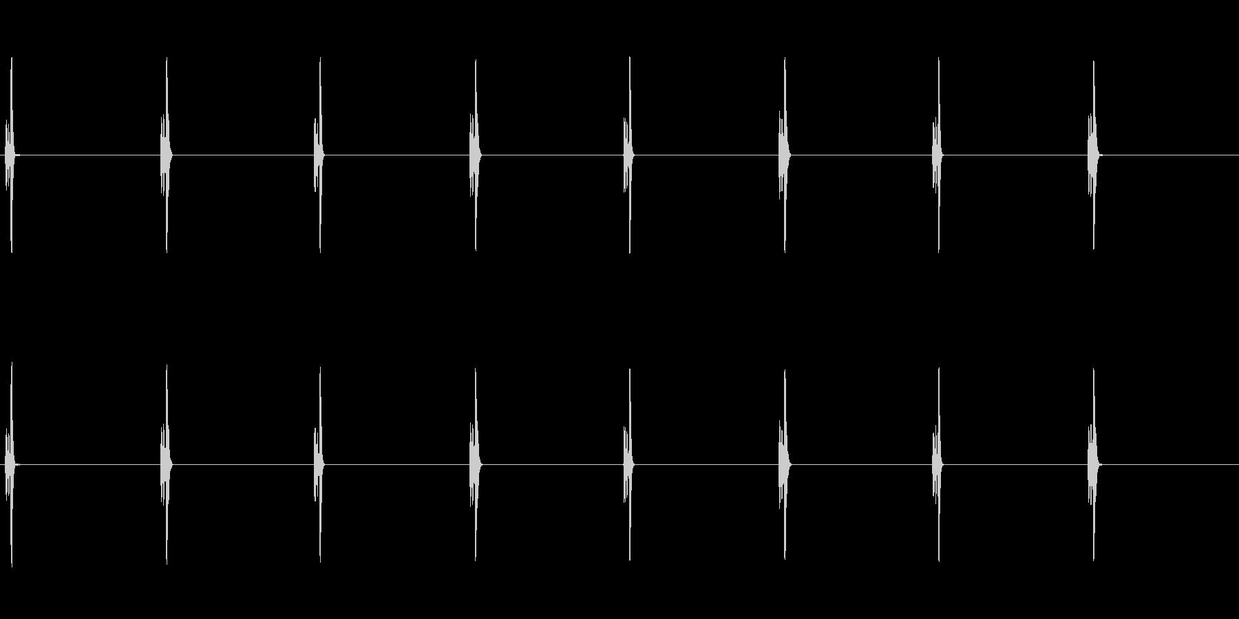【時計 秒針01-2L】の未再生の波形