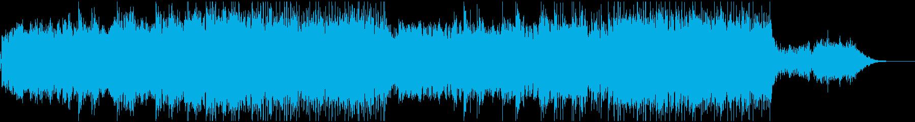 機械仕掛けの都市をイメージしたBGMの再生済みの波形