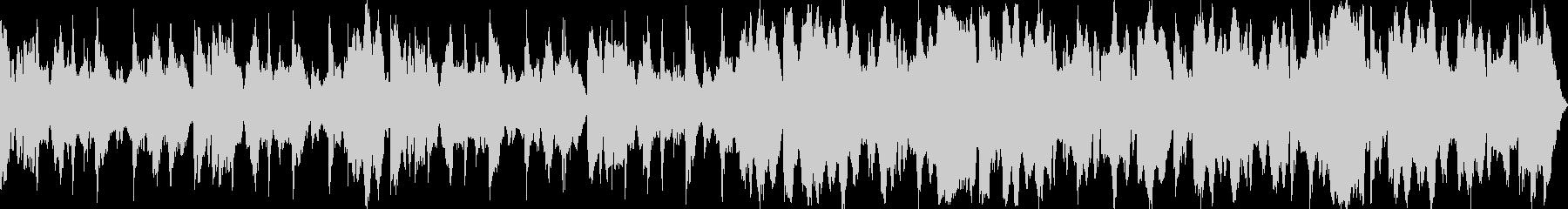 祭り囃子をイメージしたBGM03の未再生の波形