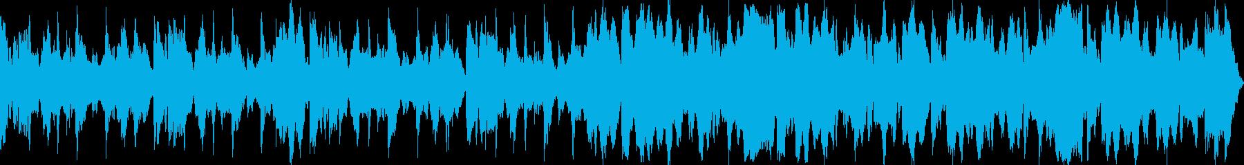 祭り囃子をイメージしたBGM03の再生済みの波形