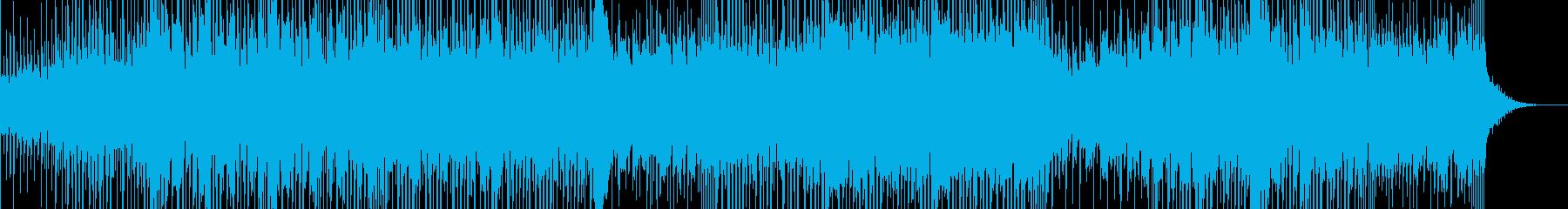 ベル系エレピの音色が印象的なロック曲の再生済みの波形