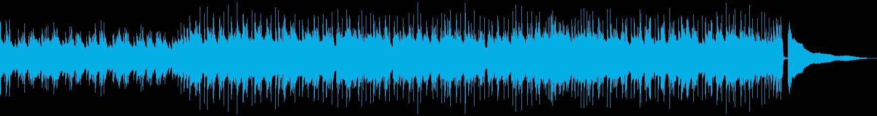 アコースティックバンドによる日常を彩る曲の再生済みの波形
