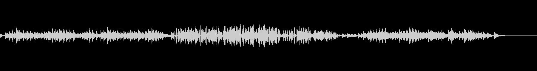 大人のクラシックピアノ「朝の鐘」の未再生の波形