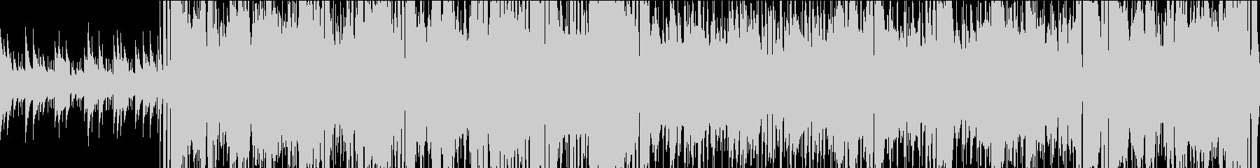 【ループ】管楽器主体の楽しげなジャズの未再生の波形