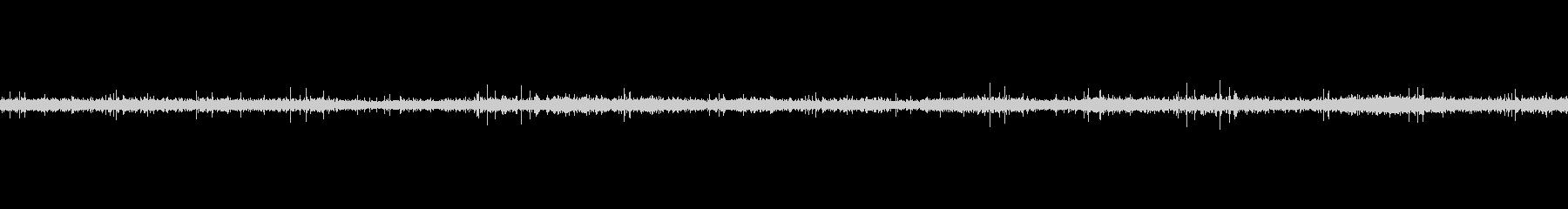 レコードノイズ Lofi ヴァイナル05の未再生の波形