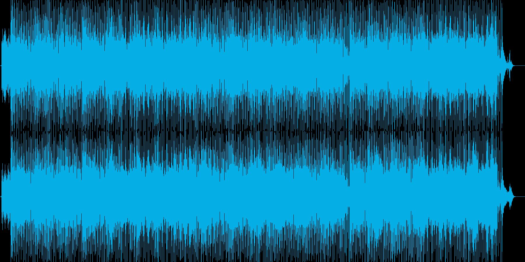 お洒落で哀愁漂う軽快なハウス・テクノの再生済みの波形