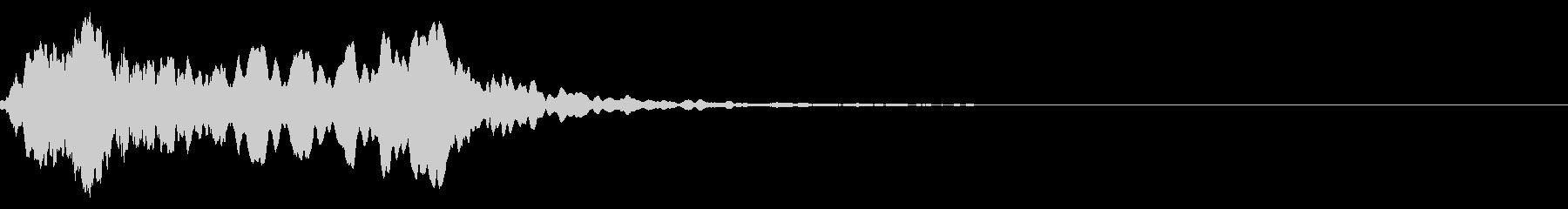 尺八の和風なインパクトジングル! 04の未再生の波形