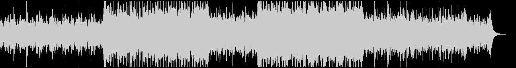 アルペジオとストリングスの上品な4つ打ちの未再生の波形