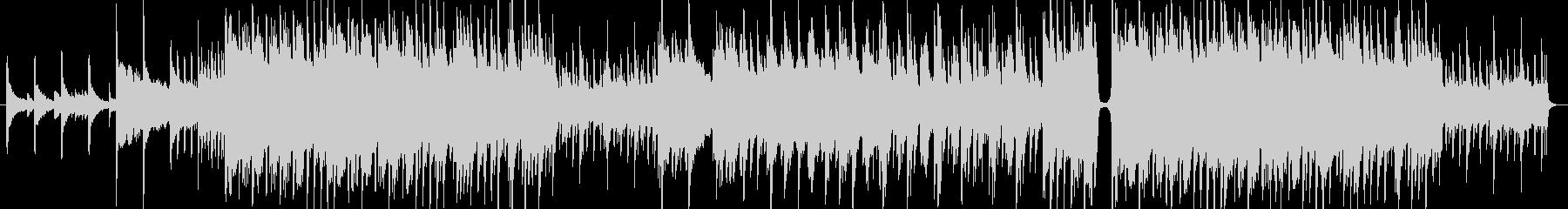 ピアノの旋律が印象的なポップスの未再生の波形