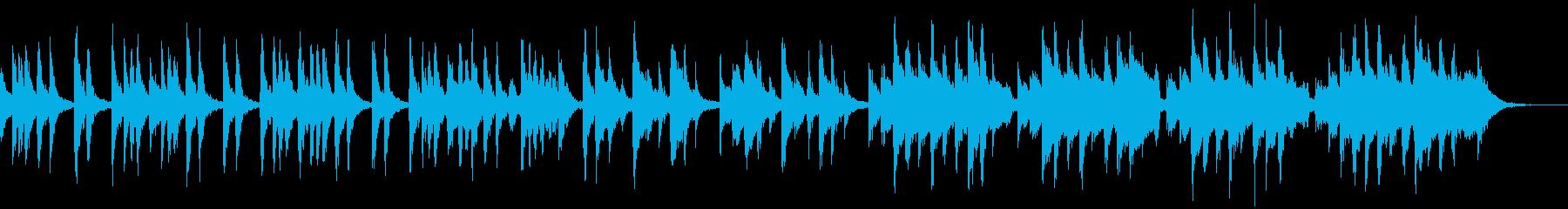 【劇伴】ほのぼのでコミカルな日常曲の再生済みの波形