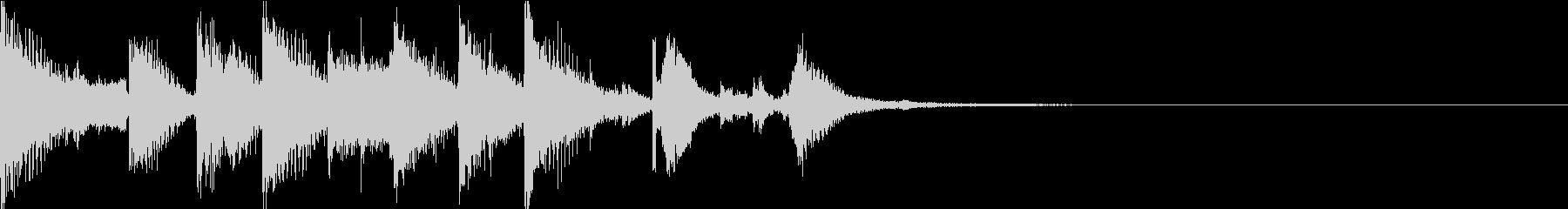 コミカルオーケストラ/サウンドロゴの未再生の波形
