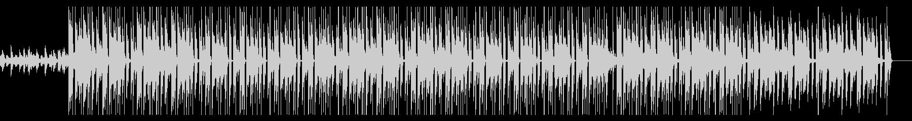 勉強用 穏やかなチルヒップホップ効果音無の未再生の波形