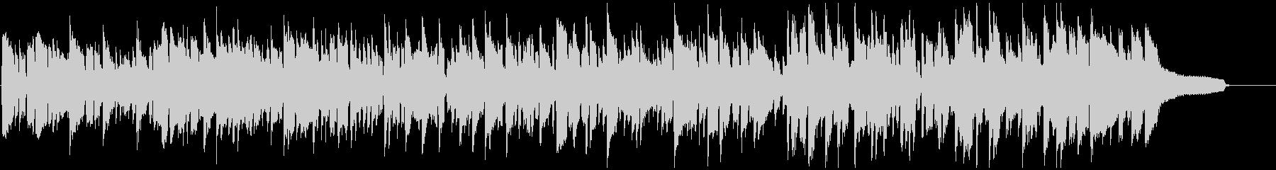 キュートで切ないリコーダーのボサノバの未再生の波形