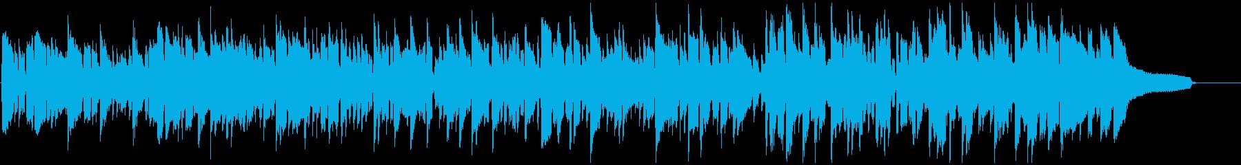 キュートで切ないリコーダーのボサノバの再生済みの波形