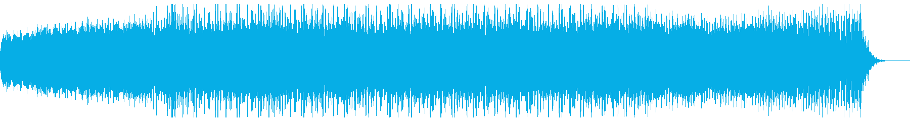 明るく温かい多目的用途オーケストラル楽曲の再生済みの波形
