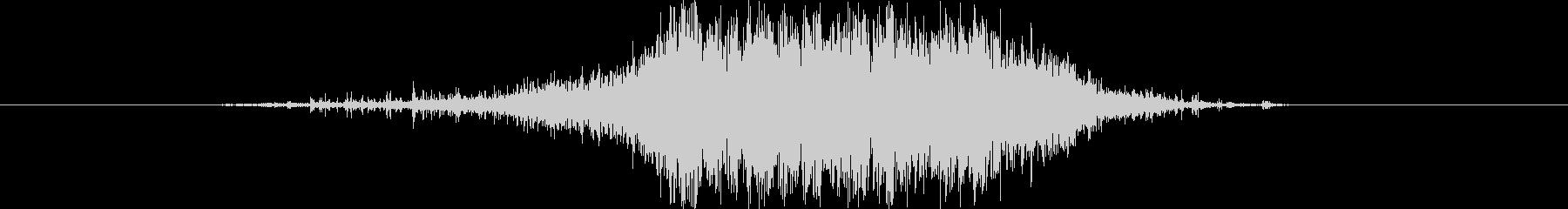 作業 サンドペーパーグラインド05の未再生の波形