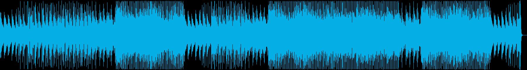 Gentle pop acoustic guitar's reproduced waveform